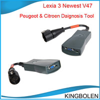 Wholesale Citroen Peugeot Lexia V47 PP2000 V24 Lexia3 Newest Version with Multi language