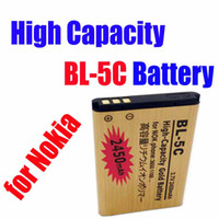 Wholesale EMS Free MOQ High Capacity Gold BL C BL C replacement Battery for Nokia V mah waitingyou