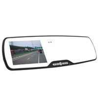 "1 channel 2.0 LCD FHD1080P 4.3"" LTPS Car dvr Camera Rearview Mirror Dash Vehicle DVR Video Recorder Motion tr81"