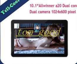 Бесплатная доставка низкая цена 10,1-дюймовый A20 Dual Core Android 4.2 1024 * 600 двойная камера HDMI Tablet PC