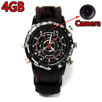 Wholesale Wrist Watch HD Camera GB Mini Waterproof Hidden DV Video Recorder Camcorder Voice Recorder