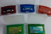 Cheap Newest Game Video Games for Gameboy Game Boy Advance GBA games Hottest poke Mix order 5pcs Do Drop Shipping