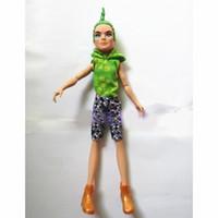 Wholesale Retail Original New Brand Monster High Deuce Gorgon Doll cm Monster High PVC Figure dolls Christmas Gift