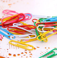 Wholesale Multi Color mm Paper Clips Office Stationery