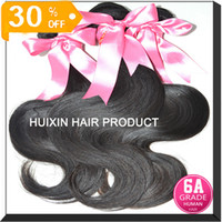 Wholesale 6A high quality queen hair products brazilian virgin hair human hair weave OFF bundles same length A