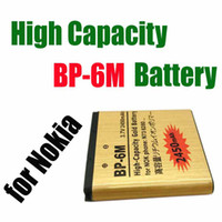 Wholesale New Arrival BP M High Capacity Gold replacement Battery for NOKIA N93 N73 BP M mAh waitingyou