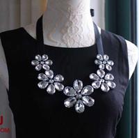 Wholesale fashion beads flower false collar choker necklace women jewelry accessory FC056