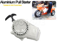 Full Face TK1192# Aluminum New Aluminium Pull Starter Start Mini Pocket Bikes ATVs Quad 49cc Mower Engines Dropshipping TK1192