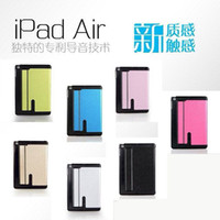 Wholesale For Ipad Ipad Air General Type Tablet Pc Leather Case Toothpick Pattern Heat Dissipation Pad Cover High Quality Sent Packing