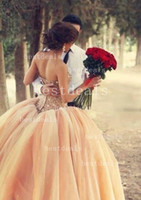2014 Ball Gown Wedding Dresses Christmas Sexy Sweetheart Rhi...