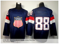 Cheap Ice Hockey team USA hockey jersey Best Men Full USA olympic hockey JERSEY