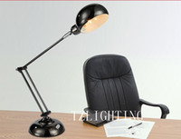 Wholesale Modern Creative Height adjustable Reading Work Table Lamp LED Table Lamp Press button Switch Metal Table Lamp