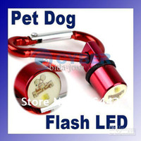 Wholesale Dog Cat Safety color Flash Flashing LED Blinker Pet Collar Light Tag