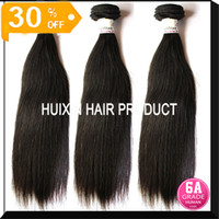 Straight Brazilian Hair machine Unprocessed Virgin Brazilian Malaysian Peruvian Indian Straight Hair 3 Bundle 10''-32'' 5A Grade Real Soft Full Cutical Hair A