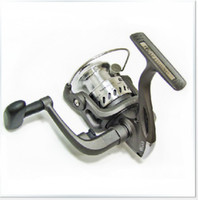 Stainless Steel silver  Fishing Equipment Bearing Light weight Fishing reel Tackle Spinning Single Wheel Reel