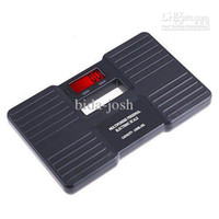 Wholesale X KG Digital Bathroom Body Weight Scale black white with retail package freeshipping
