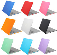 Wholesale for Apple Macbook Matte Crystal clear transparent laptop flip protector Air Pro