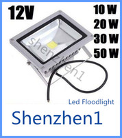 Wholesale 12V W W W W LED Flood light lamp Outdoor Landscape LED Wash Floodlight White warm white RGB waterproof IP65 High Power Garden light