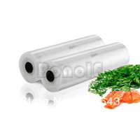 Wholesale 2Pcs cm x m Total Vacuum Sealer Rolls Commercial Grade Food Saver Sealer Bags Storage System Cryovac TK0963