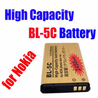 Wholesale Sample personal use High Capacity Gold BL C BL C replacement Battery for Nokia V mah from churchill