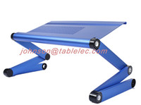Wholesale New laptop desk for bed bed tray computer desk adjustable cooling pad cooling table foldable laptop adjustable table laptop desk