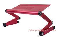 Wholesale New foldable laptop table lap desk bed table taportable laptop stand foldable laptop adjustable table laptop desk light weight laptop desk