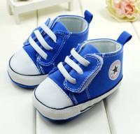 Unisex Summer Cotton Beautiful soft bottom toddler shoes.Velcro canvas shoes.11,12,13 CM baby shoes. isosceles casual shoes .baby wear . 6pairs 12pcs CL