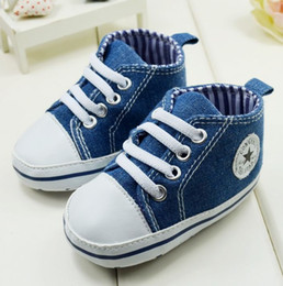 Wholesale 0 year isosceles canvas shoes kids shoes spring and autumn newborn toddler shoes Cheap baby walkin shoes china shoes pairs CL