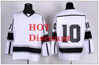 Brand Hockey Jerseys 2014 Newest Kings Jersey White 10 Mike ...