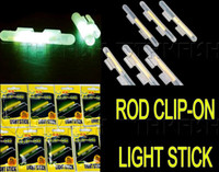 Wholesale Clip On bags Dia X3 mm Night Fishing Lighting Stick Wand Green chemical glow stick fishing