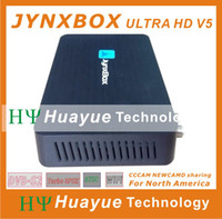 Wholesale Original authentic satellite receiver Jynxbox hd V5 Ultra hd with Jb200 for North America