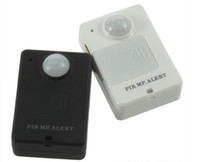 Wholesale Wireless Mini PIR MP Alert Infrared Sensor Motion Detector GSM Alarm Monitor Black amp White