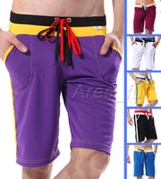Wholesale 6PCS Fashion Polyester Sexy Men s Home Sports Underwear Casual Shorts Judo Loose GYM Mens Jog Running Solid Colors Briefs Shorts S M L XL