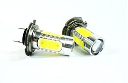 Wholesale Lamp Led H16 - 2x6W Cree H4 H7 H8 H9 H10 H11 H16, 9005 9006 PY24W P13W socket LED Fog Light 12V 24V car DRL light lamp bulb car lighting