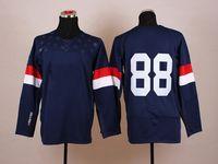 2014 Sochi Olympic Team USA 88 Patrick Kane Blue American Pr...