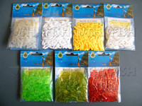 Wholesale Factory Price bags cm g Soft Lures Mixed Colour Trout Trick Worms Trout Fishing Lures Soft Baits
