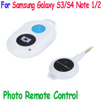 Wholesale New Arrive Photo RF Wireless Remote Control Camera Shutter Release for Samsung Galaxy S3 S4 Note for autodyne Self Timer