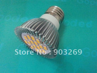 Wholesale 50PCs E27 W LED LED Spot Lamp LM White Warm White Light Bulb V Ultra Bright High Power Intensity LED Bulb