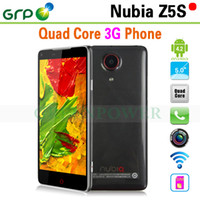 Wholesale All in stock ZTE Nubia Z5S FDH Screen Android G Phone Qualcomm MSM8974 Quad Core GB Ram GB Rom with GPS Bluetooth MP Camera
