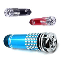 Wholesale S5Q Blue LED Car Auto Oxygen Bar Freshener Smoke Air Purifier ionizer Vehicle AAAAEW