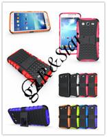 Cheap For Samsung Armor case For Mega 5.8 Best TPU+PC White case for Mega I9150 I9152