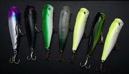 Wholesale Lot30 Topwater Fishing Lure Hooks Popper 13g 8.5cm