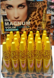 Wholesale SHEDOES In Extra Long Lasting Thick Mascara Eye Black Eyelash Grower Lashes Intensifying Mascara Waterproof Mascara Black Fber Mascara