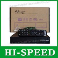 Receivers DVB-S VU+SOLO 2 2014 New Arrival!!! vu solo 2 Linux OS Vu Plus 1300 MHz CPU Twin tuner vu solo2 vu+solo 2 hd satellite tv receiver DHL free shipping