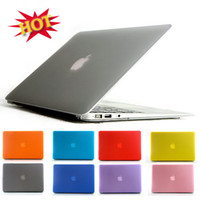Wholesale PC Case Cover for MacBook Air inch Colorful Frosted Matte Crystal Clear Hard Shell For Apple Laptop Free DHL