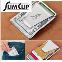 Unisex Stainless Steel  Double - Sided Money Clip Slim Clip No More Bulky Wallets