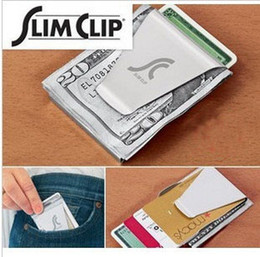 Wholesale Double Sided Money Clip Slim Clip No More Bulky Wallets