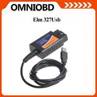 Wholesale elm327 Interface Auto scanner OBD2 OBD USB V1 car diagnostic scan tool