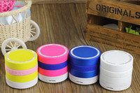 Wholesale Wireless Super Bass Portable Mini Bluetooth Speaker TF Card FM Radio for iphone ipod PC MP3 Variety colors