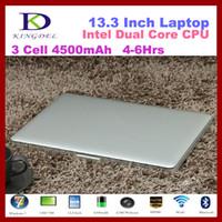 Wholesale New Arrival inch Ultrabook Laptop Intel Celeron U Dual Core GB RAM GB SSD GB HDD Bluetooth HDMI Mah Battery